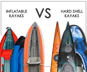 Which is Best: Hardshell vs  Inflatable Kayak? - Kayak Help