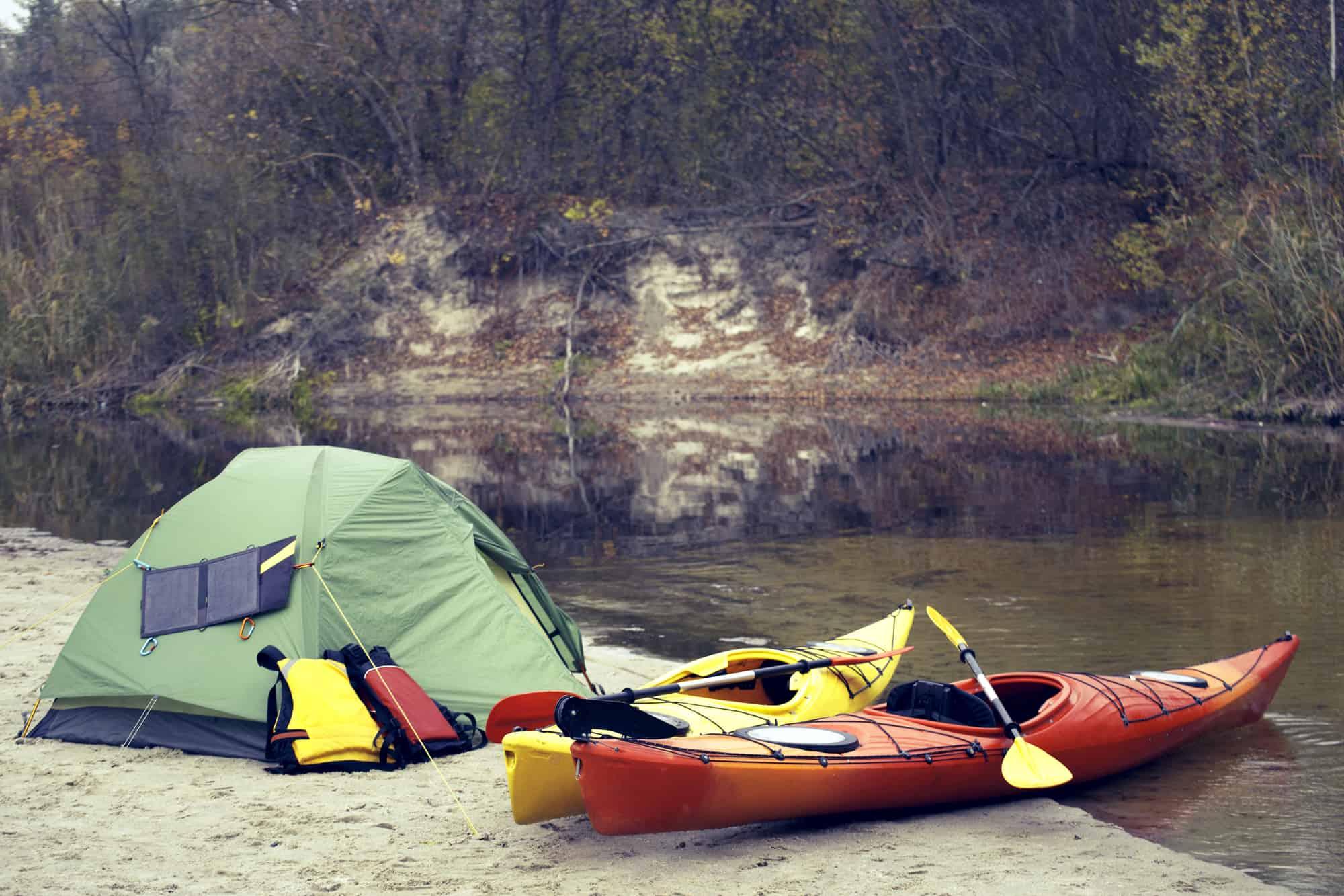 Best Kayak for Camping - Kayak Help