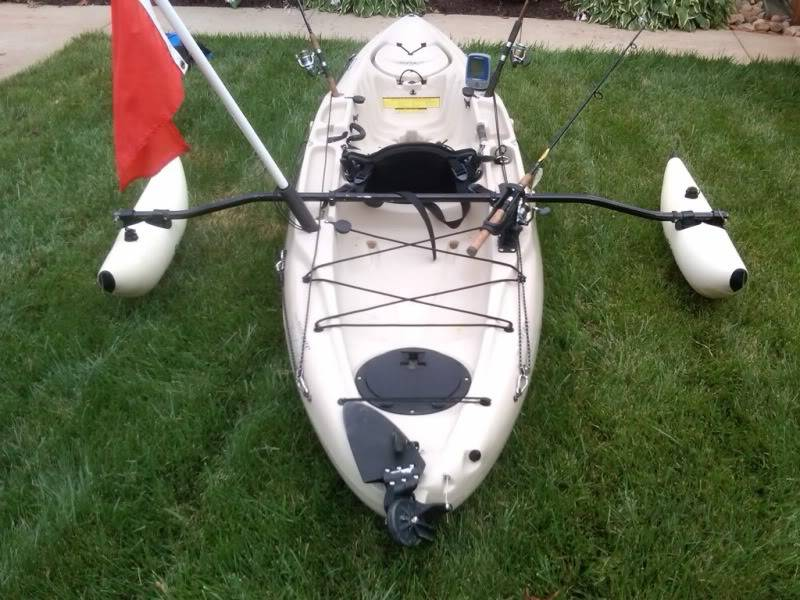 Best Kayak Outriggers: When Stability is King! - Kayak Help