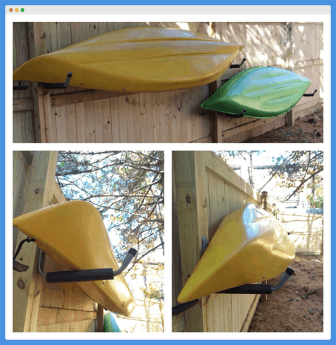 How To Kayak Outside In Winter, Kayak Storage Outside