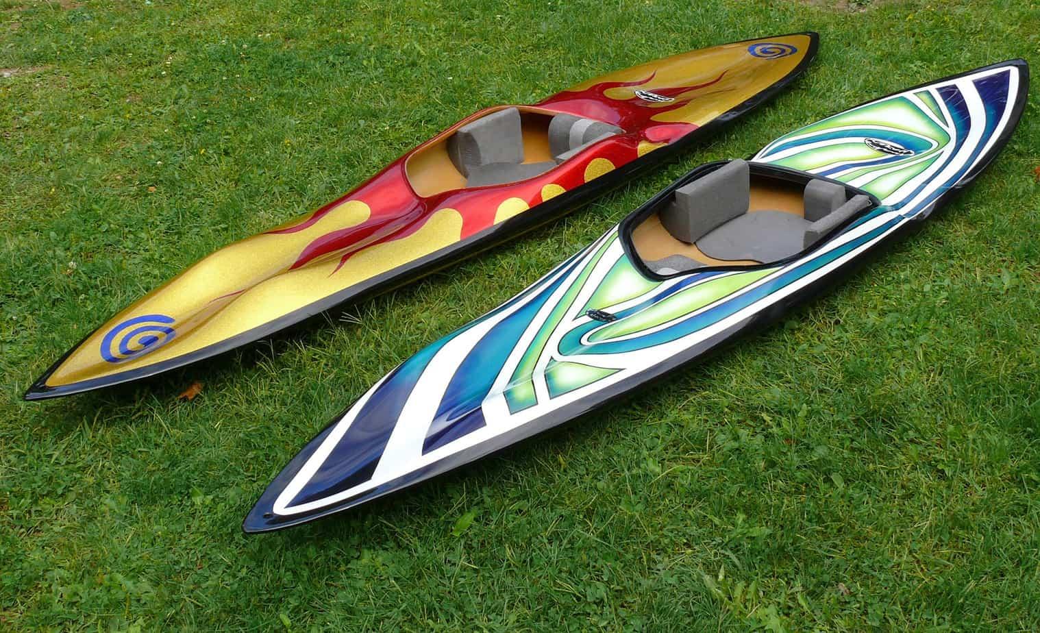 Kayak Painting Ideas & Designs