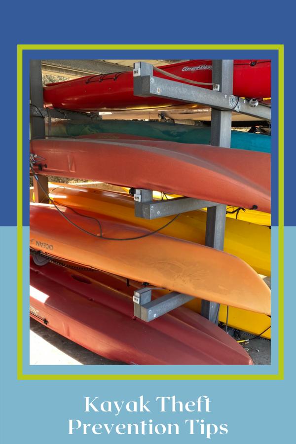 Kayak Theft Prevention Tips