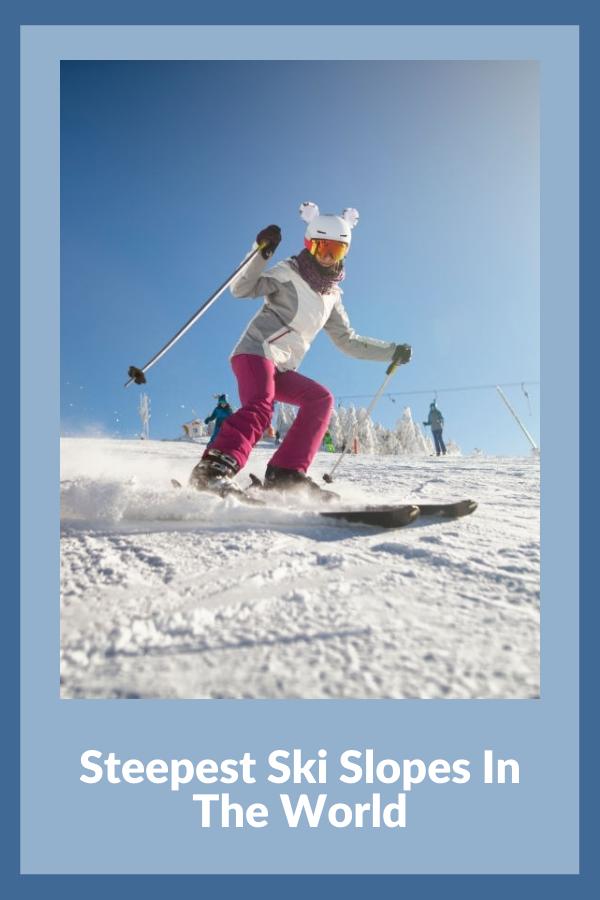 steepest ski slopes in the world