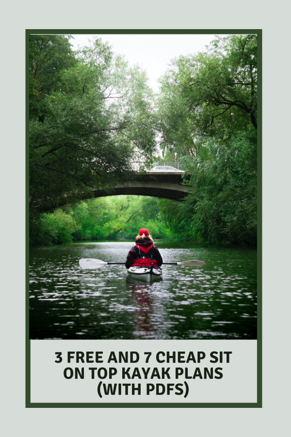 Free and Cheap Sit On Top Kayak Plans